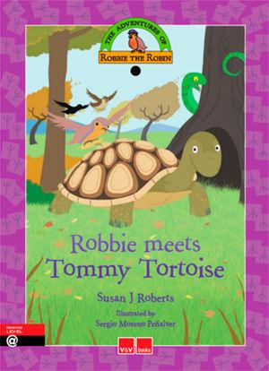 Robbie meets tommy tortoise