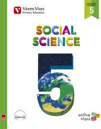 Social science 5ºep madrid+cd 15 active class