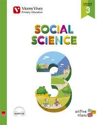 Social science 3ºep st madrid+cd 15 active class