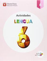 Cuaderno lengua 6ºep trimestres 15 aula activa