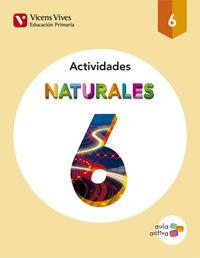 Cuaderno naturales 6ºep aula activa 15