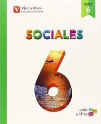 Sociales 6ºep madrid 15 aula activa