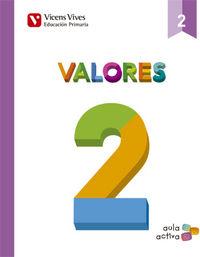 Valores 2ºep mec 15 aula activa