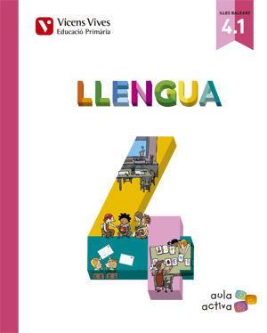 Llengua 4 (4.1-4.2-4.3) balears (aula activa)