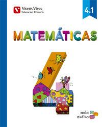 Matematicas 4ºep trimestres mec 15 aula activa