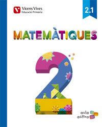 Matematiques 2 (2.1-2.2-2.3) aula activa