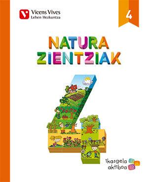 Natura zientziak 4 (ikasgela aktiboa)
