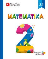 Matematika 2 (2.1-2.2-2.3) ikasgela aktiboa