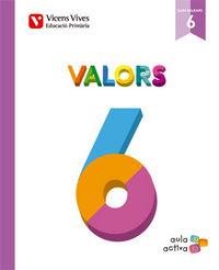 Valors 6 balears (aula activa)