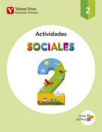 Cuaderno sociales 2ºep aula activa 15