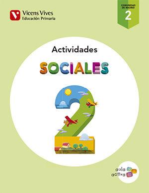 Cuaderno sociales 2ºep madrid 15 aula activa