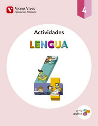 Cuaderno lengua 4ºep trimestres 15 aula activa