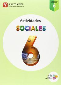Cuaderno sociales 6ºep madrid 15 aula activa