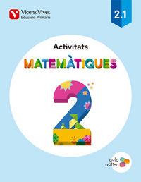 Matematiques 2 activitats (2.1-2.2-2.3) aula activ