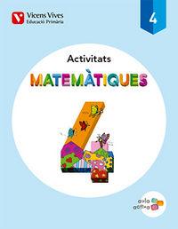 Matematiques 4 activitats (aula activa)