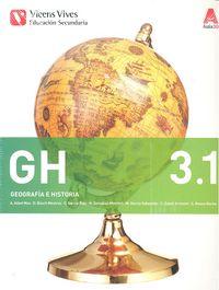 Geografia historia 3ºeso 3.1/3.2 comun