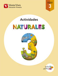 Cuaderno naturales 3ºep madrid activid.15 aula act
