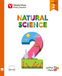 Natural science 2ºep +cd andalucia 15 aula activa