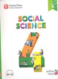 Social science 4ºep +cd andalucia 15 aula activa