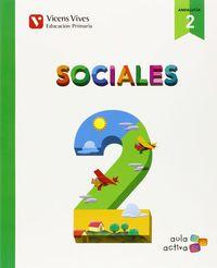 Sociales 2ºep trimestres andalucia 15 aula activa