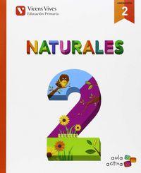 Naturales 2ºep trimestres andalucia 15 aula activ.