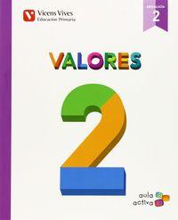 Valores 2ºep andalucia aula activa 15