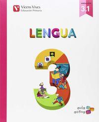 Lengua 3ºep trimestres andalucia 15 aula activa