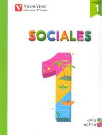 Sociales 1ºep trimestres andalucia 15 aula activa