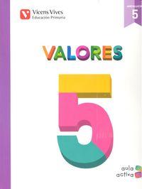 Valores 5ºep andalucia aula activa 15