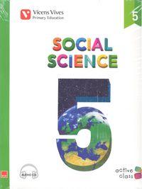 Social science 5ºep andalucia+cd 15