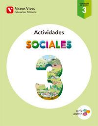 Cuaderno sociales 3ºep madrid 15 aula activa