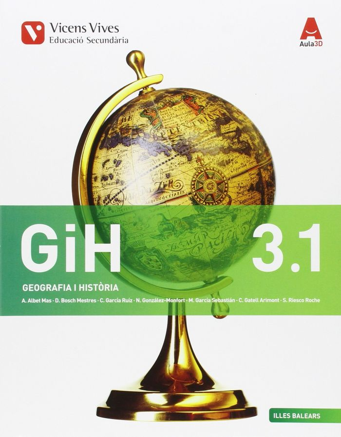 Geografia historia 3ºeso 3.1/3.2 baleares 16 aul3d