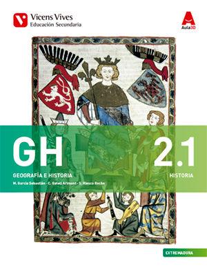 Geografia historia 2ºeso 2.1/2.2 extrem 16 aula 3d