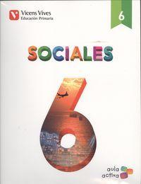 Ciencias sociales 6ºep c.leon 16 aula activa