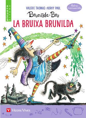 Bruixa brunilda manuscrita valenciano