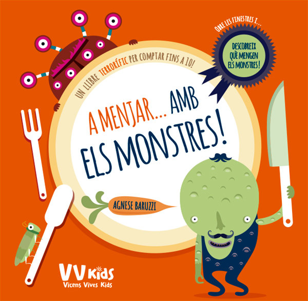 A menjar amb els monstres