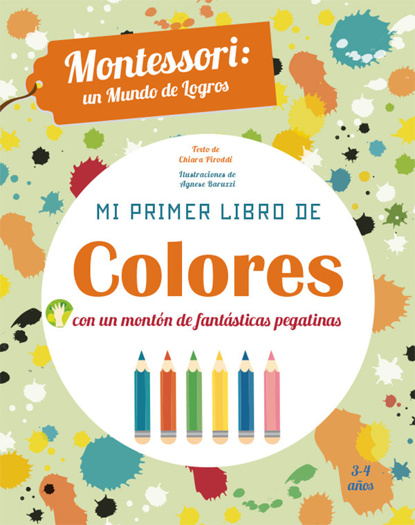Mi primer libro de colores 5 años