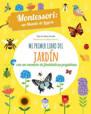 Mi primer libro del jardin pegatinas montessori