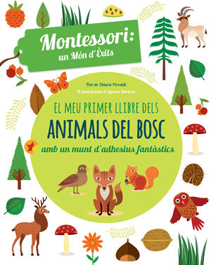 Meu primer llibre animals bosc,el