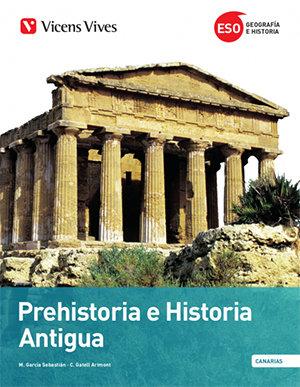 Prehistoria e historia 1ºeso canarias + separata