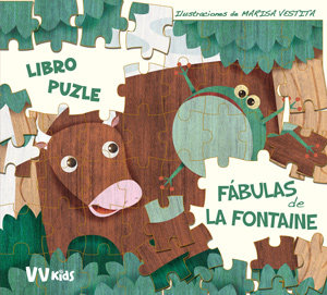Fabulas de la fontaine puzle,las