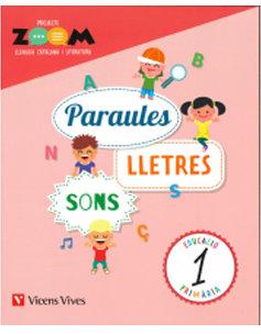 Quadern paraules lletres i sons 1ºep catalan 18 zo