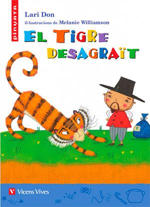Tigre desagrait,el pinyata