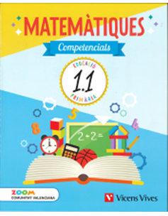 Quaderns matematiques competenc. 1ºep valen.18 zoo