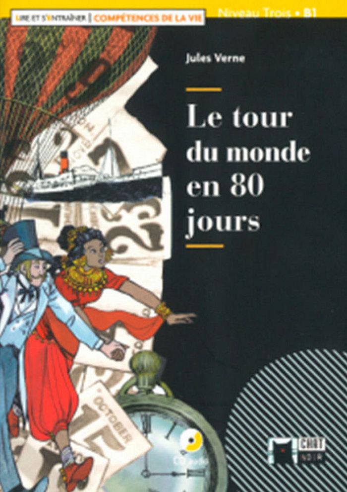 Le tour du monde en 80 jours+cd l&e comp vie