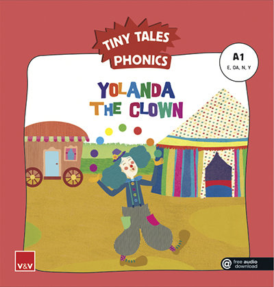 Yolanda the clown tiny tales phonics a1