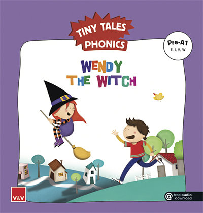 Wendy the witch tiny tales phonics pre a1