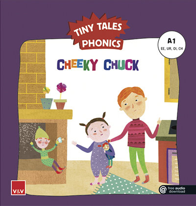 Cheeky chuck tiny tales phonics a1