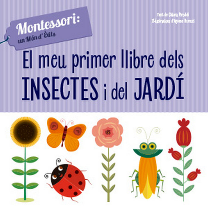 Meu primer llibre dels insectes i del jardi,el