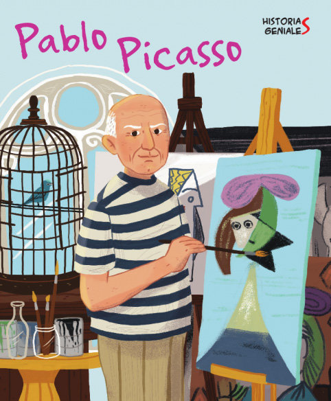 Pablo picasso. historias geniales (vvkids)